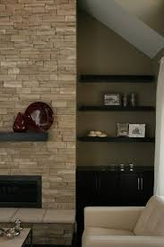 Contemporary Fireplace Mantel Shelf Designs by Best 25 Stacked Stone Fireplaces Ideas On Pinterest Stacked