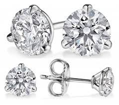 martini diamond earring settings for diamond studs image collections jewelry
