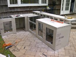 outdoor kitchen cabinets kits crafts home