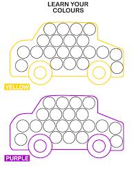 25 great bingo dauber art sheets creative coloring page ideas