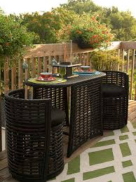 Pool And Patio Decor 12 Ways To A Small Deck Round Chair Dining Sets And Decking