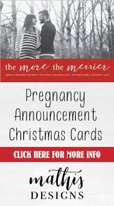 order christmas cards christmas pregnancy announcement card card the best gifts