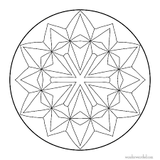 easy mandala coloring pages u2013 corresponsables co