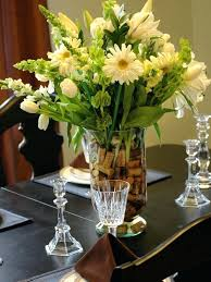 dining table simple flower arrangements for dining table how to