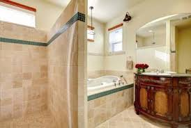 brown tile bathroom what color of walls go best with light brown tile home guides