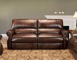leather reclining loveseat abbyson premium topgrain leather