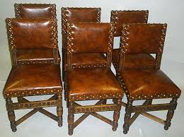 Table With 6 Chairs Antique French Dining Table With 6 Matching Chairs