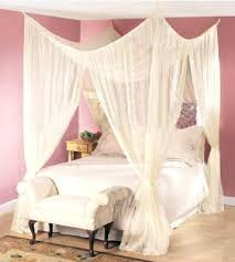 poster bed canopy amazon com dreamma 4 poster bed canopy mosquito net queen king size