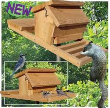Woodworking Plans by 19 W3284 Squirrel Proof Bird Feeder Woodworking Plan Projects