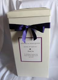 wishing box wedding cadbury purple wedding card post box wishing well available in