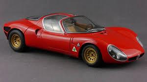 alfa romeo stradale diecast alfa romeo tipo 33 stradale modelcar autoart 1 18 in red