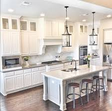 glass top kitchen island favorite kitchen look simple clean cavinets solid grey counter