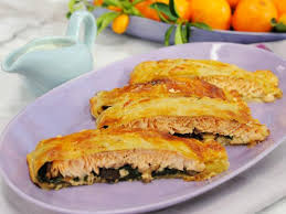 puff pastry wrapped salmon recipe marcela valladolid food network
