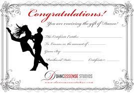gift certificates gift certificates dancessense studios