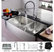 kitchen sinks combo save money on kitchen sinks and faucets with