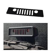 jeep wrangler brake light cover maiker jeep grille brake light cover for jeep wrangler