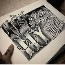 179 best lettering images on pinterest drawings chicano