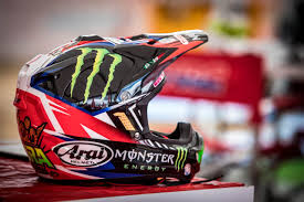 custom painted motocross helmets motocross action magazine motocross action mid week report by