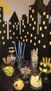 Batman Table Decorations Batman Birthday Party Ideas Batman Birthday Black Batman And Batman