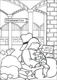 coloring pages paddington bear coloring pages images paddington