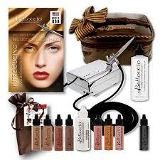 Professional Airbrush Makeup System Buy Belloccio Dark Airbrush Makeup Foundation Set Deep Shade Tone