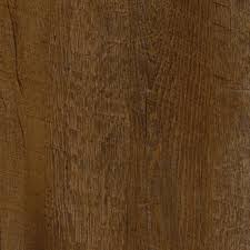 trafficmaster allure 6 in x 36 in african wood dark luxury vinyl