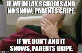 Facepalm Meme Generator - captain picard facepalm meme if we delay schools and no snow