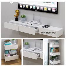 table with drawers and shelves high quality combination wall mount bedside table drawers furniture