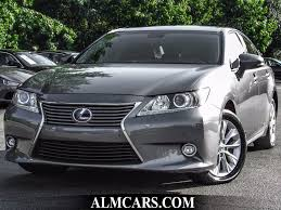 2015 lexus es 350 sedan review 2015 used lexus es 300h 4dr sedan hybrid at alm gwinnett serving