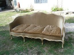 canap louis 15 canapé corbeille de style louis xv peinte d origine la déco des anges