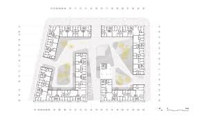 Residential Floor Plan by Gallery Of Connecting Riads Residential Complex Aqso Arquitectos 4