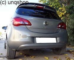 opel iran rear diffuser vauxhall opel corsa e only for 5 doors
