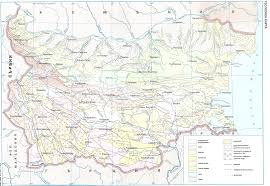 Map Of Bulgaria Impressum