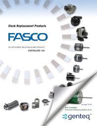 fasco fan motor catalogue untitled