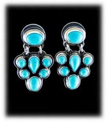 turquoise earrings turquoise earrings durango silver company