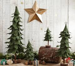 green felt trees pottery barn