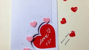make an easy love card diy crafts guidecentral youtube