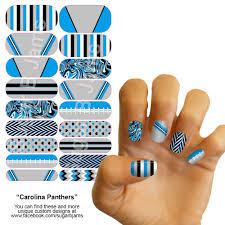 carolina panthers jamberry nail wraps custom nfl jamberry nail