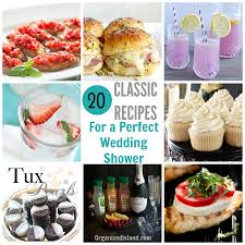 Ideas For Bridal Shower by Bridal Shower Food Ideas