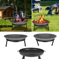 Iron Firepit Cast Iron Firepits Ebay