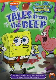 amazon com spongebob squarepants tales from the deep tom kenny