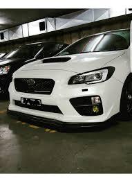 subaru sti jdm 2015 buy 2015 2017 wrx chargespeed front bumper ausbody works