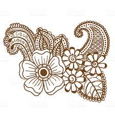 mehndi design patterns stock vector art 610559182 istock