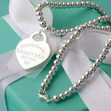 silver beads necklace tiffany images Shop tiffany heart necklace on wanelo jpg