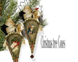 Wholesale Victorian Christmas Decorations by Christmas Victorian Vintage Paper Doll Angel Ornaments Diy