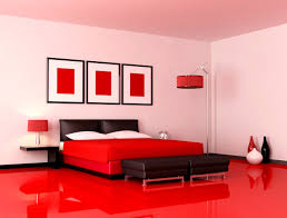 Ideas For A Red And Black Bedroom Blue Wooden Red White Bed Descargas Mundiales Com