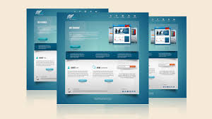website design tutorial photoshop tutorial web design venice blue portfolio