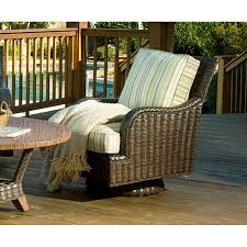 Braxton Culler Outdoor Furniture by Swivel Rocker 444 008 Lake Geneva Braxton Culler Outlet Discount