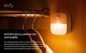 Water Faucet Night Light Amazon Com Eufy Lumi Stick On Night Light Warm White Led Motion