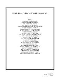 fire manual dispatcher firefighter